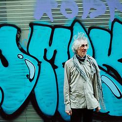 PARIS, FRANCE. MARCH 10, 2011. French guitarist Louis Bertignac, ex-Telephone, now driving his own solo career as a musician. Taken rue de Greneta. (photo : Antoine Doyen)