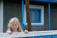 The Camareica family, Letea (Costel, Motea, Violeta (5) and Spiru), Danube delta rewilding area, Romania