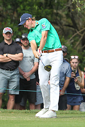 March 11, 2018 - Palm Harbor, FL, U.S. - PALM HARBOR, FL - MARCH 11: Brandt Snedeker tees off on the 11th hole during the final round of the Valspar Championship on March 11, 2018, at Westin Innisbrook-Copperhead Course in Palm Harbor, FL. (Photo by Cliff Welch/Icon Sportswire) (Credit Image: © Cliff Welch/Icon SMI via ZUMA Press)