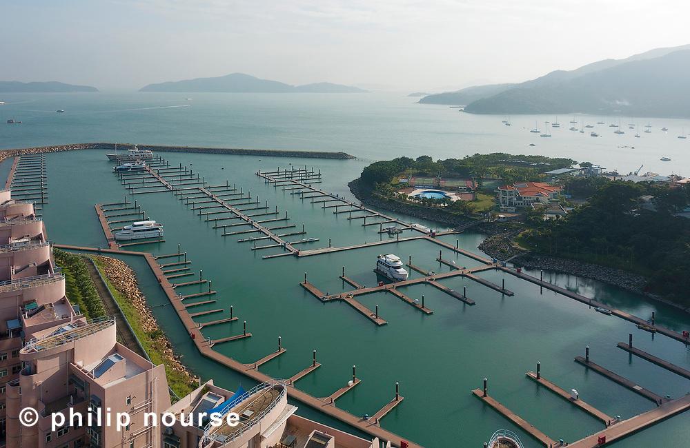 Marina Club, Discovery Bay, Lantau Island –1st January 2019
