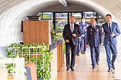 Koning opent Polaris van Luchtverkeersleiding Nederland