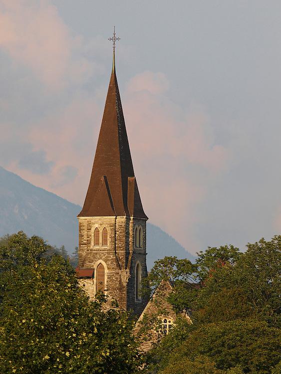Switzerland - Church in Interlaken