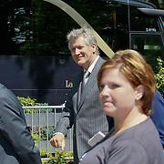 NLD/Laren/20110711 - Uitvaart Jaap Blokker, Dirk Scheringa