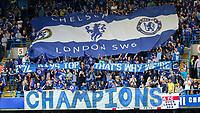 Football - 2014 / 2015 Premier League - Chelsea vs. Sunderland.   <br /> <br /> Graffiti banner displayed ahead of the game at Stamford Bridge. <br /> <br /> COLORSPORT/DANIEL BEARHAM
