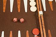 Backgammon board game