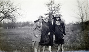 four young adult girls in a happy mood 1920s