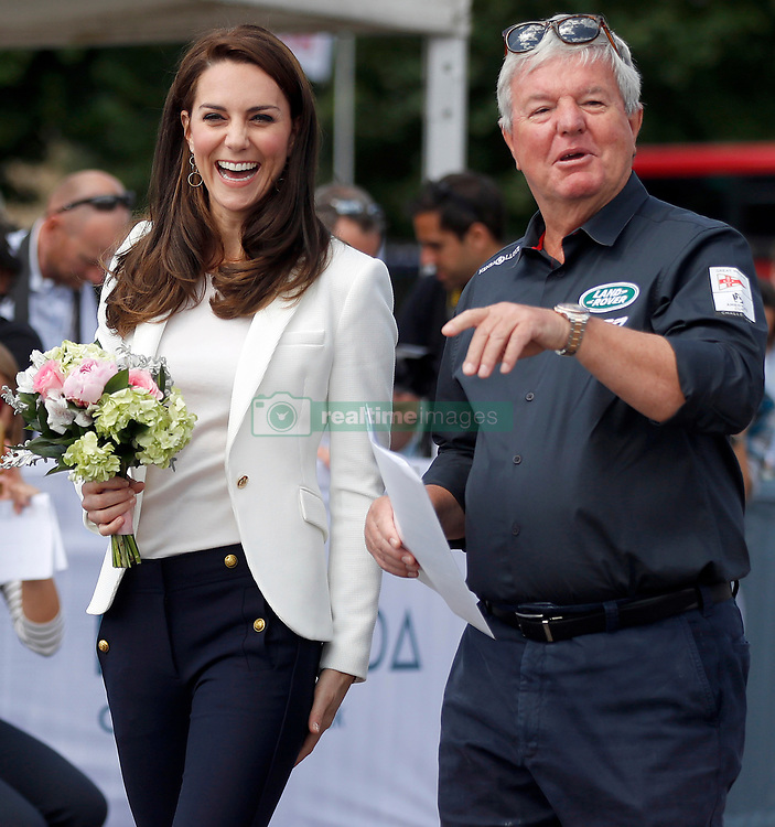 The Duchess of Cambridge attends the 1851 Trust Roadshow at the Docklands Sailing and Watersports Centre, London, UK, on the 16th June 2017. Picture by Frank Augstein/WPA-Pool. 16 Jun 2017 Pictured: Catherine, Duchess of Cambridge, Kate Middleton, Keith Mills. Photo credit: MEGA TheMegaAgency.com +1 888 505 6342
