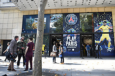 Paris: Paris Saint-Germain Store - 3 August 2017
