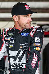 October 5, 2018 - Dover, DE, U.S. - DOVER, DE - OCTOBER 05: Clint Bowyer driver of the #14 Haas VF1/Rush Truck Centers Ford waits for Friday's practice for the Monster Energy NASCAR Cup Series Gander Outdoors 400 on October 05, 2018, at Dover International Speedway in Dover, DE. (Photo by David Hahn/Icon Sportswire) (Credit Image: © David Hahn/Icon SMI via ZUMA Press)