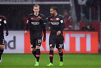 v.l. Julian Brandt, Karim Bellarabi (Leverkusen)<br /> Leverkusen, 11.02.2017, Fussball Bundesliga, Bayer 04 Leverkusen - Eintracht Frankfurt 3:0<br /> <br /> Norway only