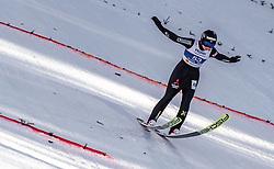 27.02.2019, Seefeld, AUT, FIS Weltmeisterschaften Ski Nordisch, Seefeld 2019, Skisprung, Damen, im Bild Maren Lundby (NOR) // Maren Lundby of Norway during the ladie's Skijumping of the FIS Nordic Ski World Championships 2019. Seefeld, Austria on 2019/02/27. EXPA Pictures © 2019, PhotoCredit: EXPA/ JFK