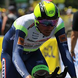 LIBOURNE (FRA) CYCLING: July 16<br /> 19th stage Tour de France Libourne- Saint-Émilion<br /> Boy van Poppel