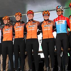 03-03-2020: Wielrennen: GP Le Samyn: vrouwen: Dour: Boels-Dolmans