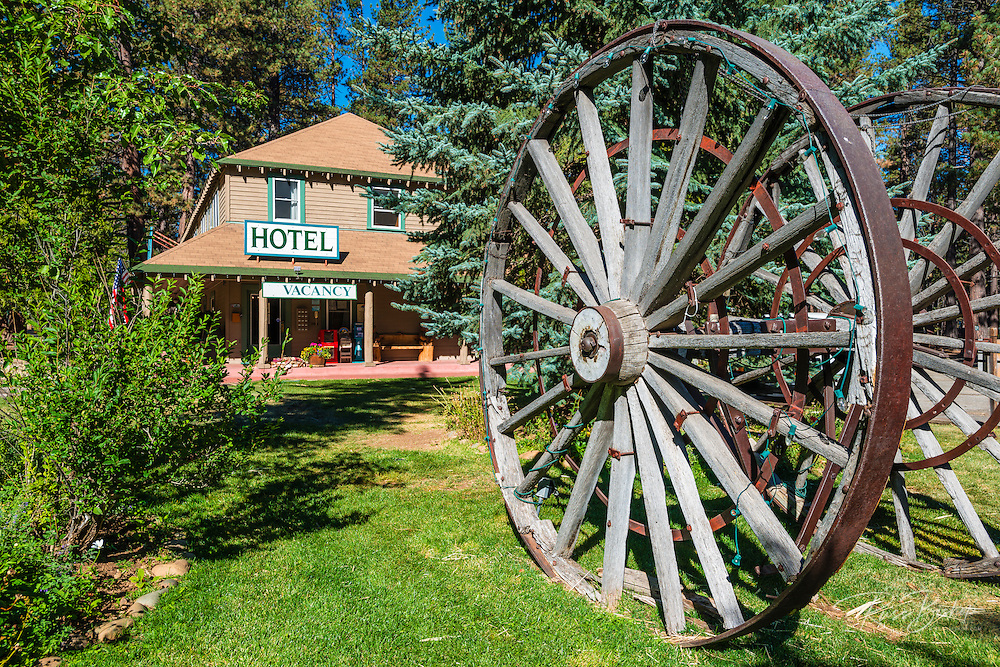 Historic Camp Richardson, Lake Tahoe, California USA