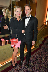 HANNELI RUPERT and SIMON PICKETT at the WGSN Global Fashion Awards 2015 held at The Park Lane Hotel, Piccadilly, London on 14th May 2015.