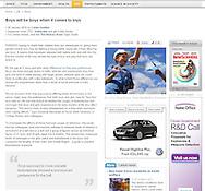 New Scientist - Boy with Model Plane - Friday Jan 8th 2010