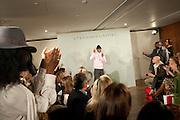 STEPHANE ST. JAYMES, Stephane St. Jaymes Spring Summer 2011 fashion show.<br /> The Westbury Mayfair, Bond Street, London,DO NOT ARCHIVE-© Copyright Photograph by Dafydd Jones. 248 Clapham Rd. London SW9 0PZ. Tel 0207 820 0771. www.dafjones.com.