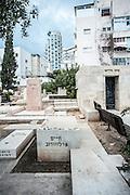 Haim Arlosoroff grave in the old cemetery in Trumpeldor street, Tel Aviv, Israel