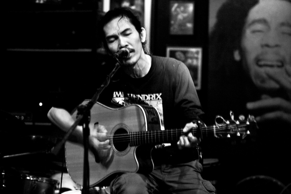 Watchara Charoenpon, better known around town simply as Took (pronounced Tuk) has been Chiang Mai, Thailand's most celebrated Rock 'n Roll guitarist for nearly two decades.<br /> <br /> Took struts his stuff and trips the light fantastic almost every night at The Brasserie, 37 Charoen Rat Road. He normally starts playing after 11 p.m.<br /> <br /> He plays unbelievable classic rock guitar that will blow your mind. If this guy was in the U.S. he would be asked to sit in with every jam band or classic rock band there is!