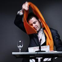Nederland, Utrecht , 10 maart 2012..SGP jongerendag georganiseerd in Beatrix gebouw in Utrecht..De Amsterdamse wethouder Lodewijk Asscher kreeg op de SGP-jongerendag de Oranje Bovenprijs uitgereikt wegens zijn strijd tegen vrouwenhandel en zijn aanpak van het Amsterdamse Wallengebied..Foto:Jean-Pierre Jans