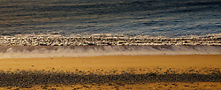 Waves on the beach at Pwllheli, North Wales<br /> <br /> (c) Andrew Wilson | Edinburgh Elite media