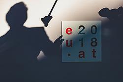 20.09.2018, Salzburg, AUT, Informeller EU Gipfel der Staats und Regierungschefs, im Bild Premierminister Xavier Bettel (Luxemburg) // prime minister Xavier Bettel (Luxembourg) during the Informal Summit of Heads of Governments and States of the European Union in Salzburg, Austria on 2018/09/20, EXPA Pictures © 2018, PhotoCredit: EXPA/ JFK