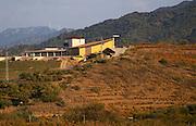 Winery building, Alvaro Palacios. Near Gratallops, Priorato, Catalonia, Spain