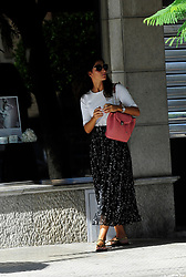 EXCLUSIVE: Maria Francisca Perello is seen the day before she is due to marry tennis ace Rafael Nadal in Majorca, Spain. Maria, 31, also known as Xisca, was spotted leaving a beauticians and running errands as last minute preparations for the glitzy wedding go ahead. She was seen talking on the phone and chatting to female friends while out and about. According to reports she and Nadal, 33, will tie the knot in a private ceremony at a fortress called La Fortaleza on the Spanish island on Saturday (October 19, 2019). 18 Oct 2019 Pictured: Maria Francisca Perello, Xisca. Photo credit: MEGA TheMegaAgency.com +1 888 505 6342