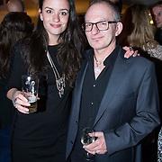 NLD/Amsterdam/20140227 - Boekpresentatie Jeroen van Inkel - Kort Sluiting , Jeroen van Inkel en Eva Koreman