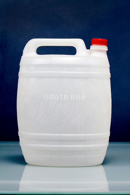 plastic wine canister