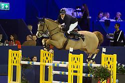 Knoester Glenn, NED, Aipicor<br /> Jumping Amsterdam 2018<br /> © Sharon Vandeput<br /> 26/01/18