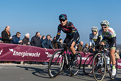 Lisa Brennauer on the Vamberg - Drentse 8, a 140km road race starting and finishing in Dwingeloo, on March 13, 2016 in Drenthe, Netherlands.