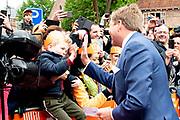 Koningsdag 2019 in Amersfoort / Kingsday 2019 in Amersfoort.<br /> <br /> Op de foto:  Koning Willem-Alexander  ///  King Willem-Alexander