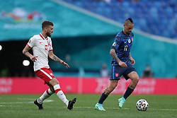 SAINT PETERSBURG, RUSSIA - JUNE 14:  during the UEFA Euro 2020 Championship Group E match between Poland and Slovakia at the Saint Petersburg Stadium on June 14, 2021 in Saint Petersburg, Russia. (Photo by Gonzalo Arroyo - UEFA)