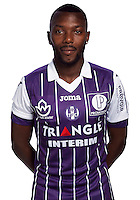 Steeve Yago of Toulouse during the photo shooting session of Toulouse FC for the new season 2016/2017 in Toulouse on September 16th 2016<br /> Photo : TFC / Icon Sport