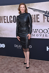 May 14, 2019 - Hollywood, California, U.S. - Molly Parker arrives for the premiere of HBO's 'Deadwood' Movie at the Cinerama Dome theater. (Credit Image: © Lisa O'Connor/ZUMA Wire)