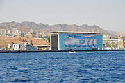Israeli Navy hrabour in Eilat, Red Sea