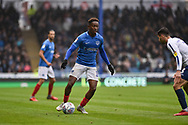 Portsmouth Midfielder, Jamal Lowe (10) during the EFL Sky Bet League 1 match between Portsmouth and Wycombe Wanderers at Fratton Park, Portsmouth, England on 22 September 2018.