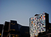 Frank Gehrey's IAC Building and Jean Nouvel's 100 11th