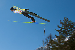 20.03.2011, Planica, Kranjska Gora, SLO, FIS World Cup Finale, Ski Nordisch, Skiflug Einzelbewerb, im Bild Thomas Morgenstern (AUT) // Thomas Morgenstern (AUT) during individual competition of the Ski Jumping World Cup finals in Planica, Slovenia, 20/3/2011. EXPA Pictures © 2011, PhotoCredit: EXPA/ J. Groder