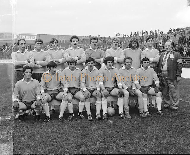 Donegal team at the All Ireland Senior Gaelic Football Final, Donegal v Offaly in Croke Park on 24 September 1972.