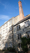 Former mill buildings now converted to housing Quemerford, Calne, Wiltshire, England