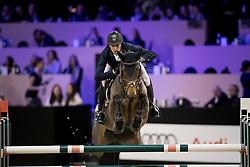 Clemens Pieter, BEL, Silberrose<br /> Jumping Indoor Maastricht 2016<br /> © Hippo Foto - Dirk Caremans<br /> 12/11/2016