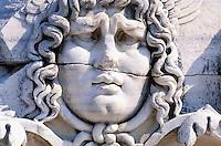 Turquie, Tête de Meduse à Didymes, Province de Égée // Meduse head - Didymes - Egée area - Turkey,