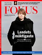 Cover of Fokus Magazine number 51, 2020.<br /> Swedish politician Katrin Stjernfeldt Jammeh.<br /> Photo Ola Torkelsson ©<br /> Copyright Ola Torkelsson