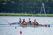 Poznan, POLAND, 20 June 2019, Can W2-,  Thursday, Morning Practice Session, FISA World Rowing Cup II, Malta Lake Course, © Peter SPURRIER/Intersport Images,<br /> <br /> 09:40:38