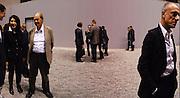 NICHOLAS LOGSDAIL; MARINA ABRAMOVIC, Ai Weiwei Unilever series opening. Tate Modern. 11 October 2010. -DO NOT ARCHIVE-© Copyright Photograph by Dafydd Jones. 248 Clapham Rd. London SW9 0PZ. Tel 0207 820 0771. www.dafjones.com.