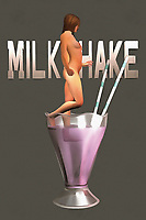 The image of a milkshake can lead us to a number of different thoughts and memories. This is the first element to this piece that you will want to consider. The next thing you are going to want to keep in mind is the fact that this is perhaps a very, very large glass of milkshake. You could also make the case that the nude woman stepping into the milkshake is very, very tiny. There is a case to be made for either possibility. Regardless of what you perceive, this is a compelling piece of art that can make for a fine addition to your space. .<br /> <br /> BUY THIS PRINT AT<br /> <br /> FINE ART AMERICA<br /> ENGLISH<br /> https://janke.pixels.com/featured/milkshake-jan-keteleer.html<br /> <br /> <br /> WADM / OH MY PRINTS<br /> DUTCH / FRENCH / GERMAN<br /> https://www.werkaandemuur.nl/nl/shopwerk/Pop-Art---Milkshake/438196/134