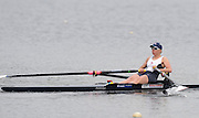 Hazewinkel, BELGIUM,  Andrea DENNIS, competing in the Sunday Afternoon, Semi Finals at the GB Rowing Senior Trials at the Blose Rowing Centre.  Sunday 12.04.2009 [Mandatory Credit. Peter Spurrier/Intersport Images]