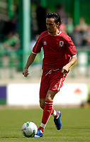 Photo: Jed Wee/Sportsbeat Images.<br /> Hibernian v Middlesbrough. Pre Season Friendly. 28/07/2007.<br /> <br /> Middlesbrough's new signing Tuncay Sanli.